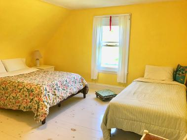 Yellow Room with shared bath
